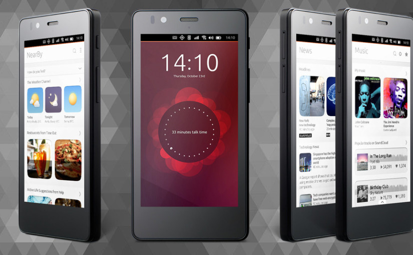 Aquaris E4.5 Ubuntu Edition pierwszy telefon z Ubuntu!